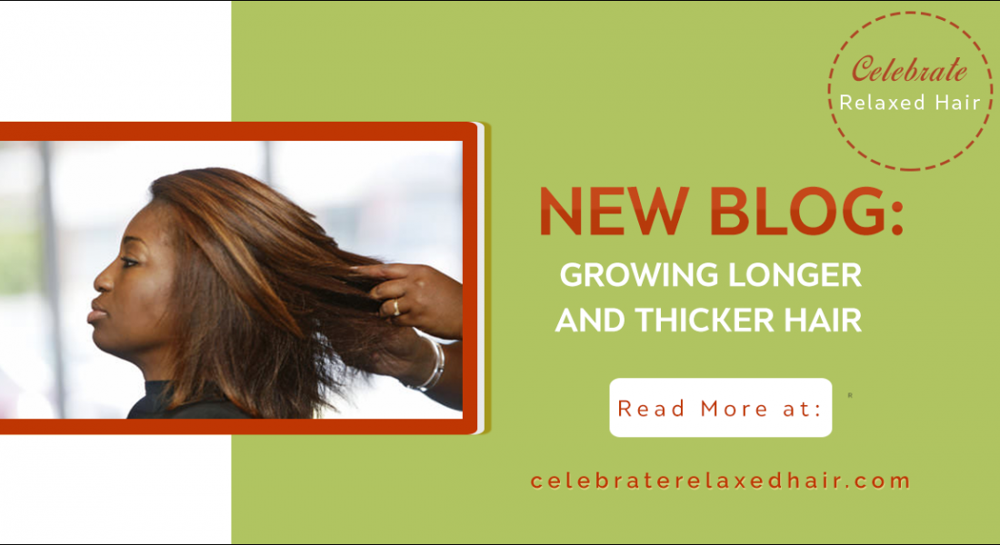 Celebrate Relaxed Hair – Tips to retain the thickness in your hair: