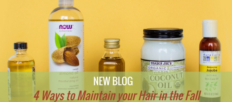 4 Ways to Maintain your Hair in the Fall